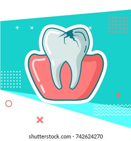 dental vector illustration