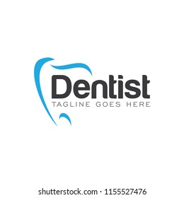 dentist dental logo icon vector template