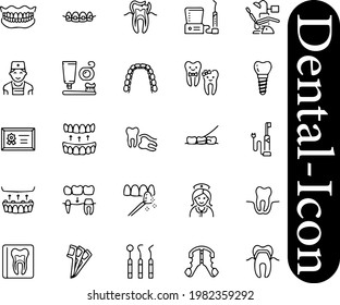 Dentist Icons 20 vectors, icons, clipart graphics, and You can use these Dental Icons for everything free download from Shutterstock