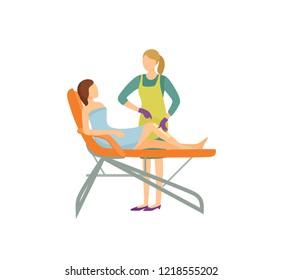 Beautician uniform stock illustrations images vectors for Uniform spa vector