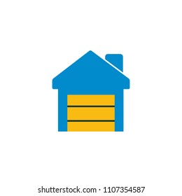 Depository Logo Icon Design