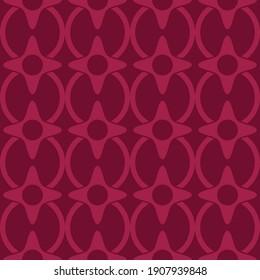 Depp Pink Pattern. Vector Pink Pattern.