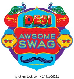 desi swag. desi word art. desi arts. truck art. Meaning of the this word is stolen goods in english