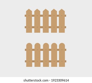 design about fence icon illustration