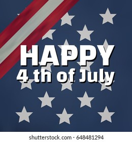 Design american independence day art