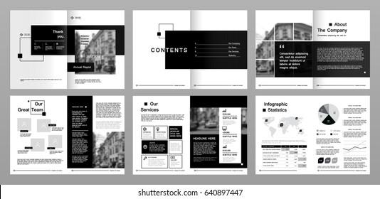 Cover Page Layout Design Görseller, Stok Fotoğraflar ve