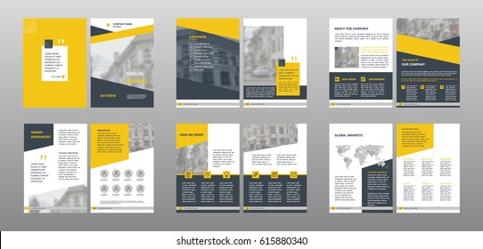 annual report template images stock photos vectors shutterstock