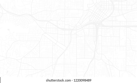 design art white map city atalanta