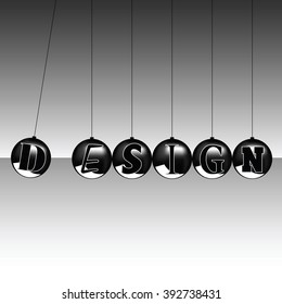 design balls icon illustration