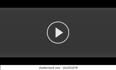 Design of black video screen background