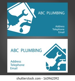 Design Business Cards For Plumbing And Working