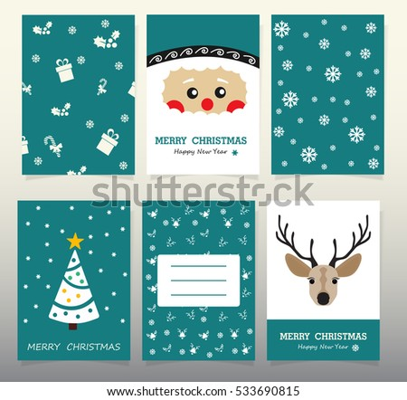 Design Christmas Cards 2017 Christmas Tree Stock Vector Royalty