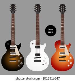 design classic guitar set,vector