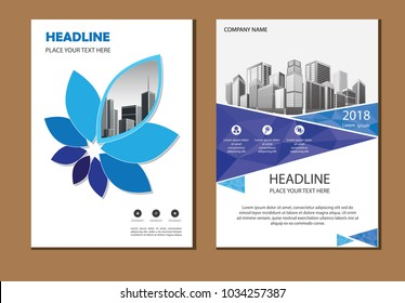 design cover poster a4 catalog book brochure flyer layout annual report business template