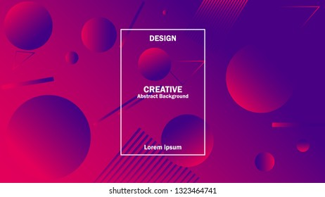 design creative background. modern design with gradient color. cover music, poster, event, campaign, company