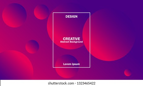 design creative background. modern design with gradient two color. cover music, poster, event, campaign, company