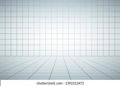 Design of elegant white room
