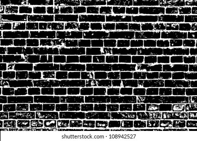 design element. Ancient brick wall texture