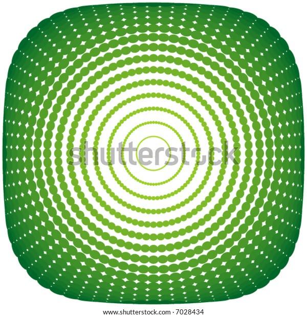 design element dots - vector -