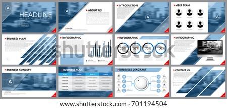 design element infographics presentation templates business stock