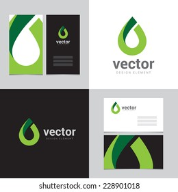 Design element with two business cards - 13