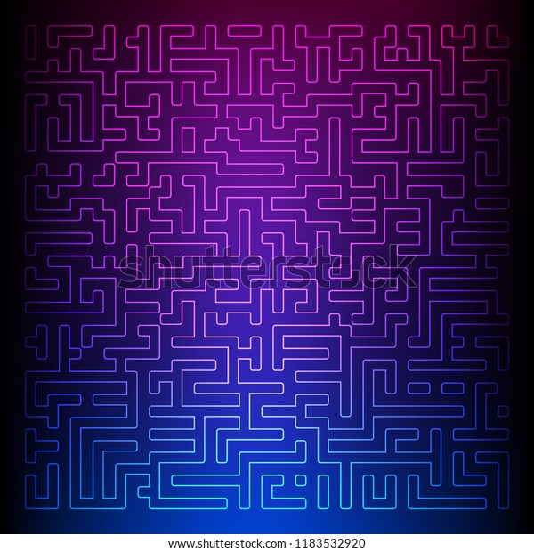 Design Elements Background Maze Texture Good Stock Vector (Royalty