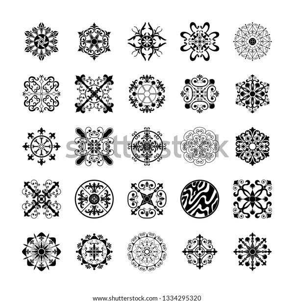 46+ Vector Elements Bundle Pack Design