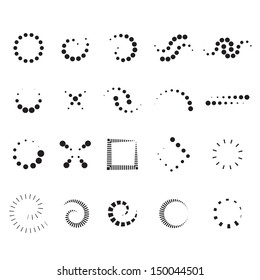 Design Elements Set - Isolated On White Background - Vector Illustration, Graphic Design Editable For Your Design. Design Logo