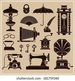 Design Elements -?? Vintage Ephemera And Objects Of Old Era
