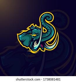 Design elephant for logo or mascot your brand