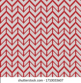 Design Fair Isle Graphic Jacquard Knitted Seamless Pattern.