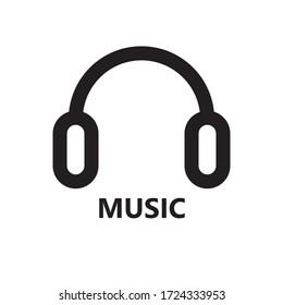 Design flat music for dj earphone