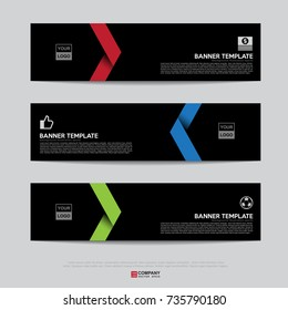 Design of flyers, banners, brochures and cards template,Banner design for business presentation,Header template