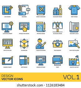 Design icon set. Logo, branding, guidelines, packaging, shirt, icon development, interaction, interior, magazine layout, prototype grid, 3d modeling, photography, photo retouching, sketchbook, print.
