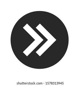 design icon symbol arrow button vector