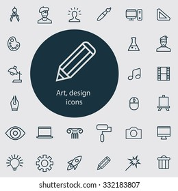 design Icons Vector set.