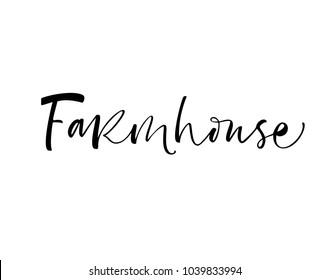 Farmhouse Images, Stock Photos & Vectors | Shutterstock