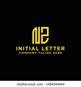 design inspiration, a logo for the company from the initial letters of the NZ logo icon. -Vectors