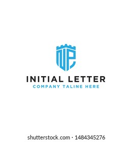 design inspiration, a logo for the company from the initial letter of the NP logo icon. -Vectors
