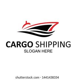 design logo concept of shipping freight services