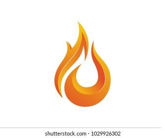 Design logo fire