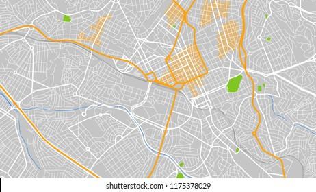 design map city campinas