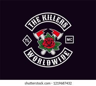 Design for Motorcycle Club Logo, Emblem, Sticker