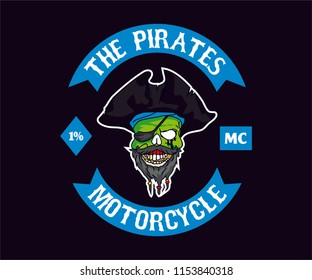 Design for Motorcycle Club Logo/Colors, design for Emblem, Design fot T-Shirt, design For Sticker/Decal/Retro.