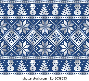 Design Norway Festive Sweater Fairisle. Seamless Knitting Pattern