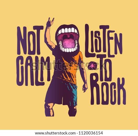 Design Not Calm Listen