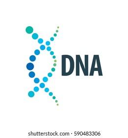 design pattern logo dna. Vector illustration icon