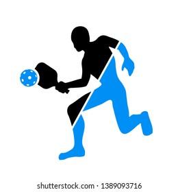 Design of pickeball player symbol
