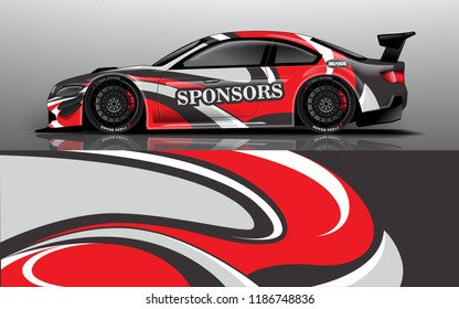 design, race, vehicle, vector, advertising design, automobile, branding design, decal car, drifting car, geometric, illustration, mockup, rally cars, rally race, speed, speed car, sport, sticker vecto