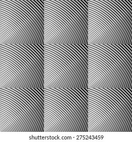 Design seamless monochrome grid pattern. Abstract textured tiled background. Vector art. EPS10